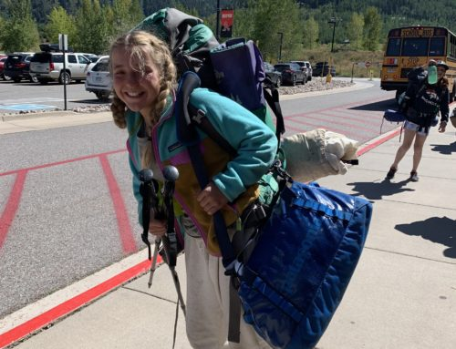 AMS 8th graders return from outdoor ed!